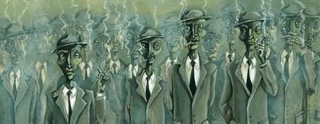 Los verdaderos hombres grises